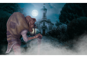 Igor Is The Reason Your Fear Cemeteries After Nightfall - Halloween Short Story