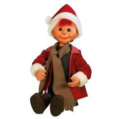Puppet Boy Santa - sitting