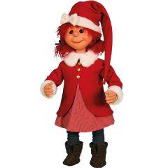 Puppet Girl Santa - standing