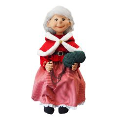 Puppet Mrs. Santa Claus - sitting