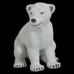 Sitting Polar Bear Baby