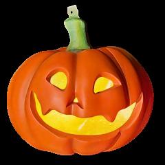 Pumpkin 40 cm hanging, w/light