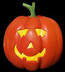 Pumpkin 70 cm hanging, w/light
