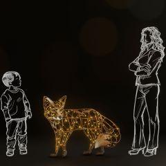 Fox Big standing