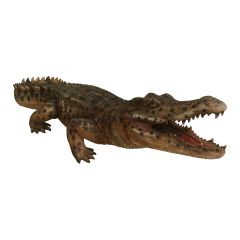 Life Size Alligator Statue