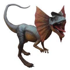 Blue Dilophosaurus 1