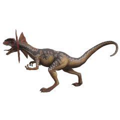 Brown Dilophosaurus 2