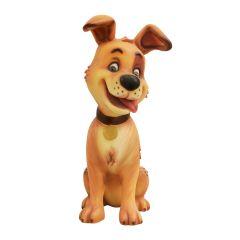 Comic Dog Statue