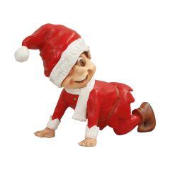 Crawling Santa Elf