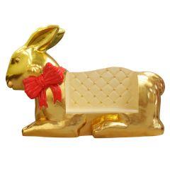 Easter Chocolate Bunny Sofa