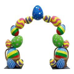 Easter Egg Arch
