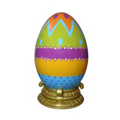 Easter Egg 200 cm with Base