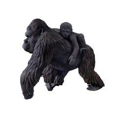 Gorilla With Kid Statue