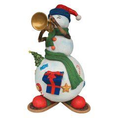 Jazz The Snowman Statue