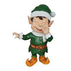 Laughing Santa Elf