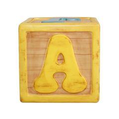 Letter Blocks u,f,a,p,z,j