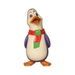 Phil The Penguin Singing Statue