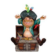 Pirate in treasurechest