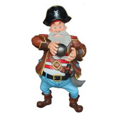 Pirate with Cannonball