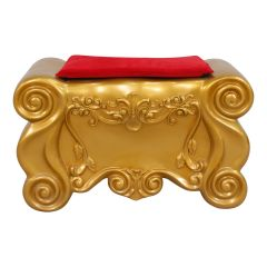 Santa footrest Red/Gold