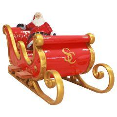 """Santa sitting """"Santa sleigh 0009"""""""