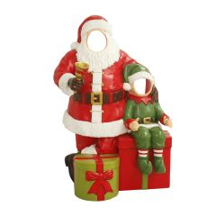 Santa with elf Photo Op
