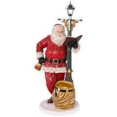 Santa With Lampost