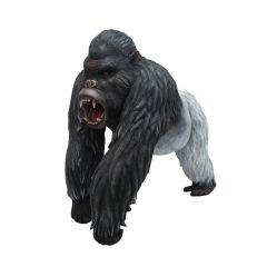 Life Size Silverback Gorilla Statue