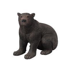 Life Size Sitting Bear Statue
