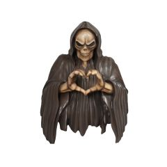 Skeleton With Heart Sign