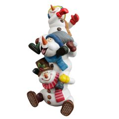 Snowman Brothers Statue