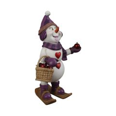 Sweetheart The Snowman Statue