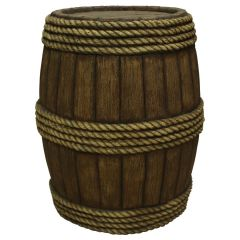 Barrel with Rope