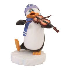 Penguin with Violin