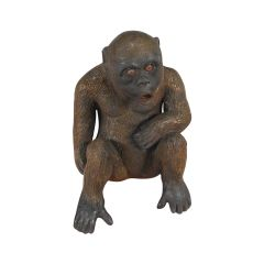 Young Gorilla Statue